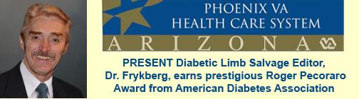 Phoenix VA Diabetes Researcher Earns Prestigious Roger Pecoraro Lecture Award